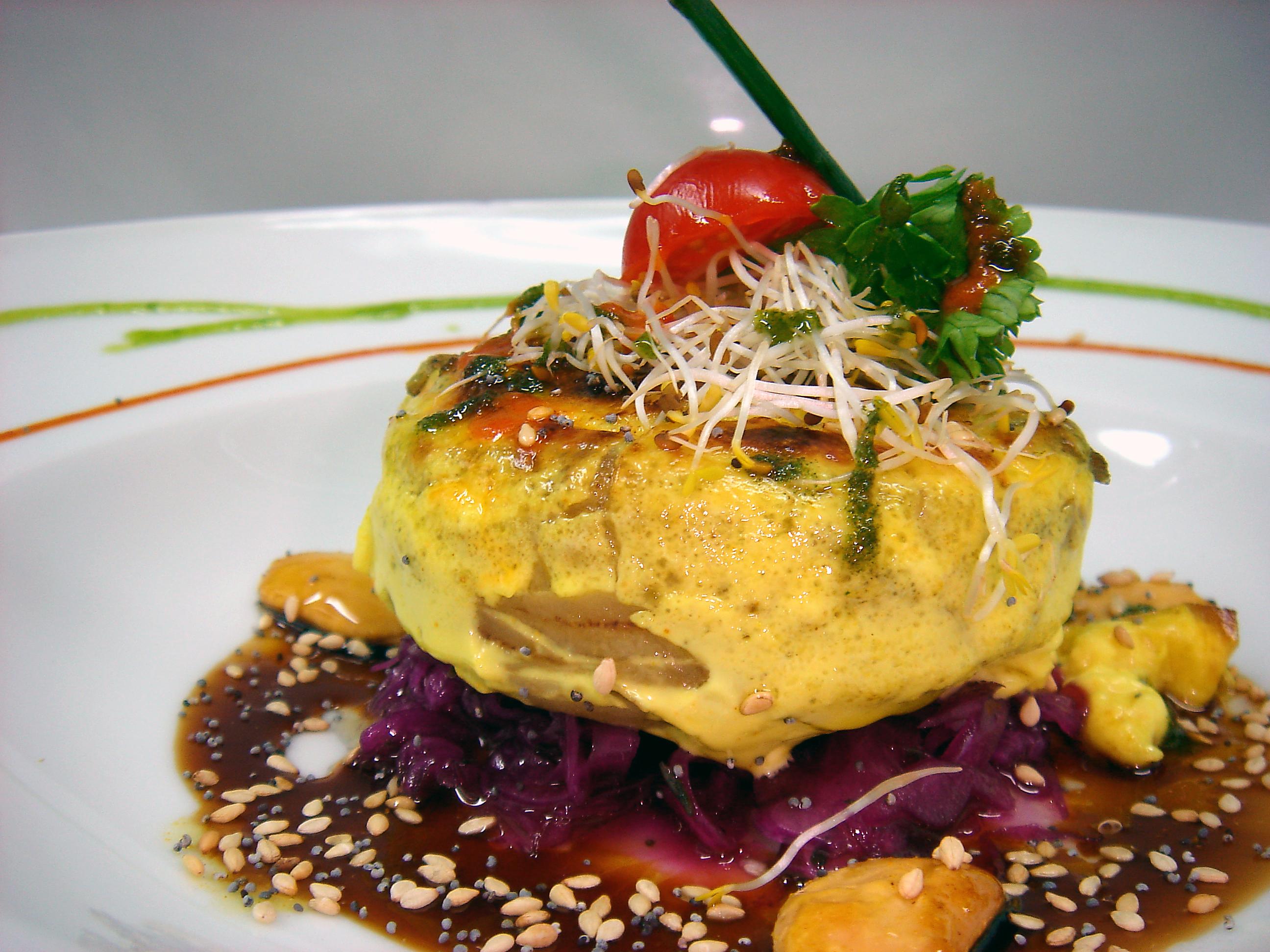 Yerbabuena alta cocina vegetariana for Platos de alta cocina